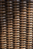 Wicker woven texture background of chair Royalty Free Stock Photo