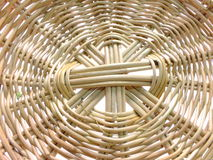 Wicker woven texture background Stock Image