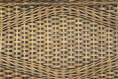 Wicker woven texture  Stock Image