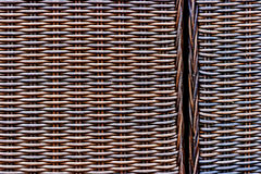 Wicker woven texture Royalty Free Stock Images