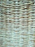 Wickered ha strutturato il fondo dai ramoscelli del withy immagini stock