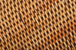 Wickered rattan background Stock Photos