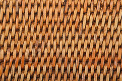Wickered rattan background Royalty Free Stock Images