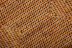 Wickered rattan background Stock Image
