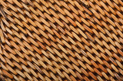 Wickered rattan background Royalty Free Stock Photo