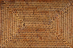 Wickered rattan background Stock Photography
