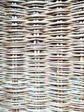 Wickered texturizó el fondo de las ramitas del mimbre imagen de archivo libre de regalías