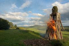 The Wickerman Stock Image
