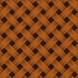 Wickers seamless texture. Stock Photos