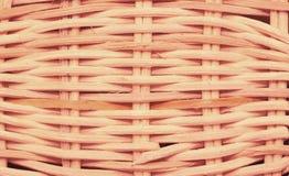 Wickerwork σύσταση καλαθιών Στοκ Φωτογραφίες