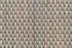 Wickerwork σύσταση τεχνών που γίνεται από το ξηρό sedge υπόβαθρο Κλείστε επάν στοκ φωτογραφία