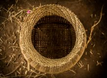 Wickerwork των χωρικών στην Ταϊλάνδη στοκ φωτογραφία με δικαίωμα ελεύθερης χρήσης