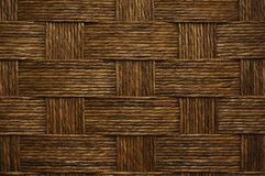 Wickerwork. Brown wicker texture used as a background Stock Photo