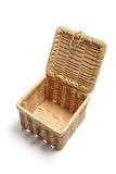 Wickerwork Basket Royalty Free Stock Photography