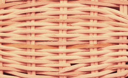 Wickerwork basket texture Royalty Free Stock Photos