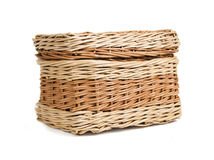 Wickerwork box Royalty Free Stock Photos