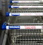 Wickes Shop stock photography