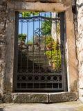 Wicket-deur met stappen Stock Afbeeldingen