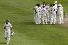 Wicket falls at Hove Stock Photography