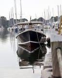 Wickford港口1 免版税图库摄影
