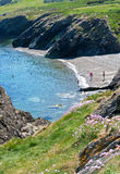 Wicklow beach royalty free stock image