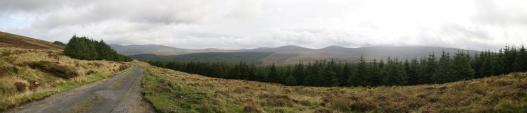 Wicklow-Berge stockbilder