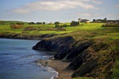 Wicklow Cliffs Stock Photo