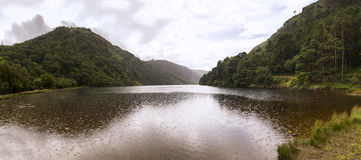 Wicklow lake panorama Royalty Free Stock Photography