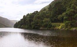 Wicklow lake panorama Royalty Free Stock Photo