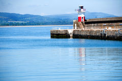 Wicklow lighthous Royalty Free Stock Photo