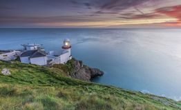 Lighthouse Wicklow National Park/ Wicklow Mountains/ Wicklow National Park in Ireland