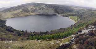 Wicklow Mountains – Lake Tay (Lough Tay) Stock Photo