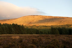 Wicklow mountains Royalty Free Stock Image