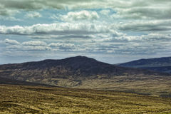 Wicklow Mountains. View in Ireland Royalty Free Stock Images