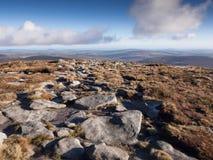 Wicklow mountains, Ireland Royalty Free Stock Photos