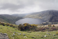 Wicklow Mountains – Lake Tay (Lough Tay) Royalty Free Stock Photography