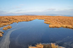 Wicklow mountains national park Royalty Free Stock Photo
