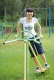 ćwiczenia fizyczne zdjęcie stock