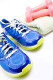 ćwiczenia gym butów sport Fotografia Royalty Free