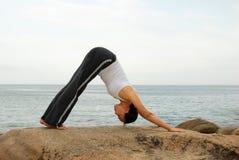 ćwiczenia joga Zdjęcia Stock