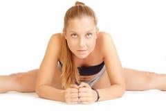 ćwiczenia kobiety potomstwa Zdjęcia Stock