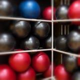 Ćwiczenie piłki Fotografia Stock