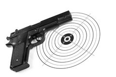 Ćwiczyć target884_1_ Fotografia Royalty Free