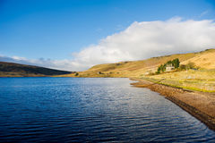 Widdop Reservoir Lake in West Yorkshire, UK Royalty Free Stock Image