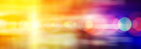 Wide abstract colored background. With flare from bright yellow light Royalty Free Stock Photos