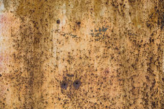 Wide abstract old brown rusty Stock Photos