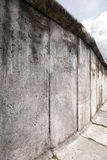 East-West Berlin Original Wall Section Stock Photos