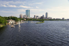 Wide angle boston Royalty Free Stock Photo