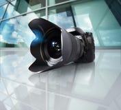 Wide angle camera Stock Photos