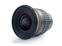 Wide-angle camera lense Royalty Free Stock Photos